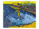 Van Gogh: The Sower, C1888 Giclee Print by Vincent van Gogh