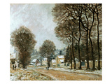 Sisley: Louveciennes, C1874 Prints by Alfred Sisley