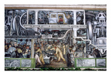 Diego Rivera: Detroit Giclee Print by Diego Rivera
