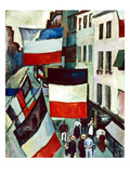 Dufy: Flags, 1906 Giclee Print by Raoul Dufy
