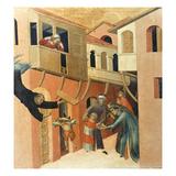 Martini: St. Augustine Giclée-Druck von Simone Martini