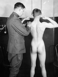 World War I: Examination Photographic Print
