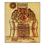 Mexico: Aztec Sacrifice Giclee Print