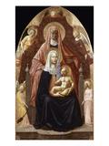 St. Anne, Madonna & Child. Giclée-tryk af Masaccio,