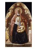 St. Anne, Madonna & Child. Art by  Masaccio