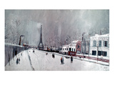 Utrillo: Eiffel Tower Giclee Print by Maurice Utrillo