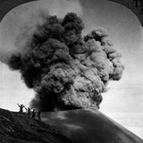 Volcano: Java, 1910 Photographic Print