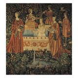 Seigneurial Bath, C1500 Giclee Print