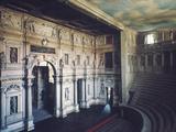 Palladio: Teatro Olimpico Photographic Print by Andrea Palladio