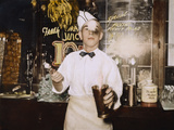 Soda Jerk, 1939 Photographic Print by Russell Lee