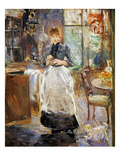 Morisot: Dining Room, 1886 Prints by Berthe Morisot