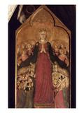 Memmi: Madonna In Heaven Posters by Lippo Memmi