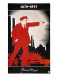 Vladimir Lenin (1870-1924) Giclee Print by Adolf Strakhov