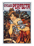 Mucha: Bicycle Ad, 1897 Giclee Print by Alphonse Mucha
