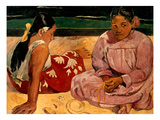 Gauguin: Tahiti Women, 1891 Prints by Paul Gauguin