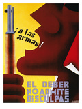 Spanish Civil War, 1937 Giclee Print