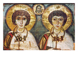 Saints Sergius And Bacchus Giclee Print