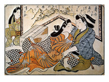 Japan: Lovers Giclee Print by Jihei Sugimura
