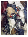 Leger: The Smokers, 1912 Giclee Print by Fernand Leger