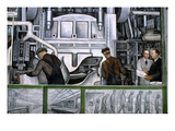 Diego Rivera: Detroit Print by Diego Rivera