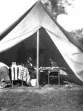 Lincoln & Mcclellan Fotografisk tryk af Alexander Gardner