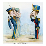 Cartoon: Mexican War, 1846 Giclee Print