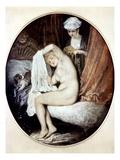 Watteau: Toilette Giclee Print by Antoine Watteau