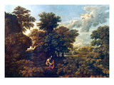 Poussin: Spring, 1662-63 Giclee Print by Nicolas Poussin