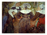 Gauguin: Breton Women Giclee Print by Paul Gauguin