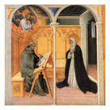 St. Catherine Of Siena Prints by Giovanni di Paolo