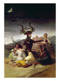 Goya: Witches Sabbath Giclee Print by Francisco Goya