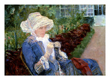 Cassatt: Lydia, 1880 Giclee Print by Mary Cassatt