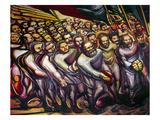 Siqueiros: Mural, 1950S Giclee Print by David Alfaro Siqueiros