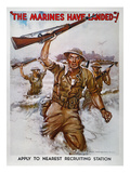 WWII Recruiting Poster Prints by James Montgomery Flagg