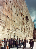 Jerusalem: Wailing Wall Photographic Print
