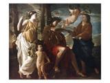 Poussin: Apollo Print by Nicolas Poussin