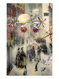 Evergood: Street Scene Giclee Print by Philip Evergood