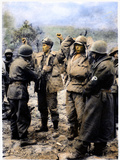 Korean War: Prisoners Photographic Print