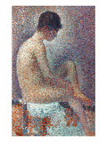 Seurat: Model, 1887 Giclee Print by Georges Seurat