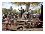 Steen: Quack, 17Th Century Giclee Print by Jan Havicksz. Steen
