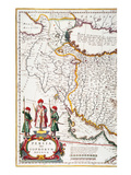 Mesopotamia, 1662 Giclee Print by Jan Blaeu