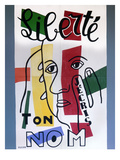 Leger: Liberty, 1953 Giclee Print by Fernand Leger