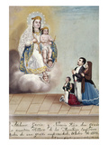 Bustos: Worship, 1879 Giclee Print by Hermenegildo Bustos