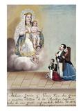 Bustos: Worship, 1879 Prints by Hermenegildo Bustos