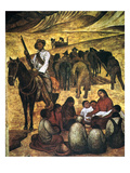 Rivera: Schoolteacher Giclee Print by Diego Rivera