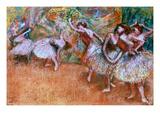 Degas: Ballet Scene Art by Edgar Degas