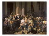 France: Bread Riot, 1793 Giclee Print by Louis Leopold Boilly