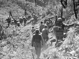 Korean War: Triangle Hill Photographic Print