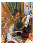 Renoir: Girls/Piano, 1892 Giclee Print by Pierre-Auguste Renoir