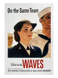 WWII: Waves Poster Prints